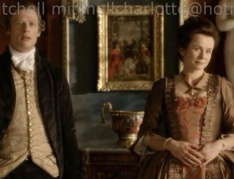 James Norton and Emily Watson