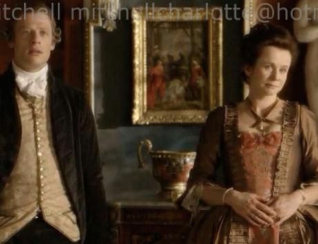 James Norton and Emily Watson